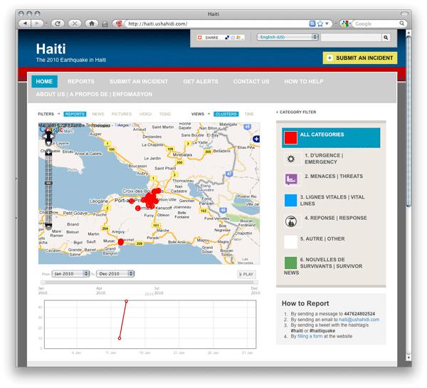 haiti - ushahidi